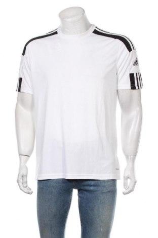 Мъжка тениска Adidas, Размер L, Цвят Бял, Полиестер, Цена 51,75лв.
