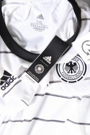 Мъжка тениска Adidas, Размер 3XL, Цвят Бял, Полиестер, Цена 26,07лв.