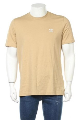 Мъжка тениска Adidas Originals, Размер M, Цвят Бежов, Памук, Цена 48,00лв.
