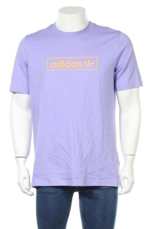 Мъжка тениска Adidas Originals, Размер M, Цвят Лилав, Памук, Цена 51,75лв.