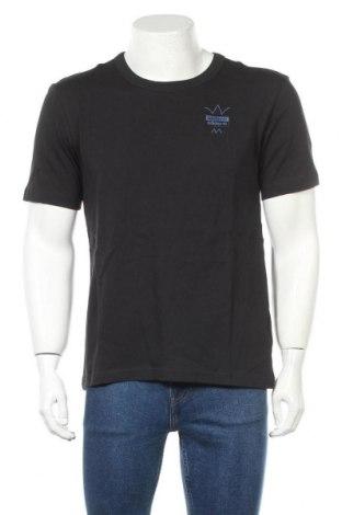 Мъжка тениска Adidas Originals, Размер S, Цвят Син, Памук, Цена 51,75лв.