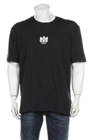 Tricou de bărbați Adidas Originals, Mărime M, Culoare Negru, Bumbac, Preț 115,79 Lei