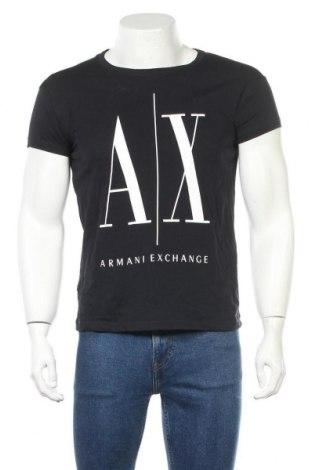 Ανδρικό t-shirt Armani Exchange, Μέγεθος S, Χρώμα Μαύρο, Βαμβάκι, Τιμή 35,57€
