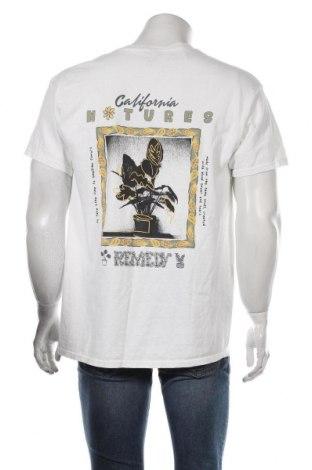 Мъжка тениска BDG, Размер S, Цвят Бял, Цена 22,62лв.