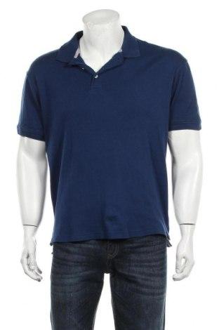 Męski T-shirt Beverly Hills Polo Club, Rozmiar M, Kolor Niebieski, Bawełna, Cena 52,80zł
