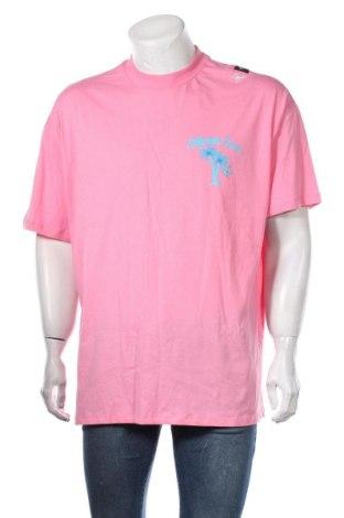 Мъжка тениска Boohoo, Размер M, Цвят Розов, Памук, Цена 15,40лв.