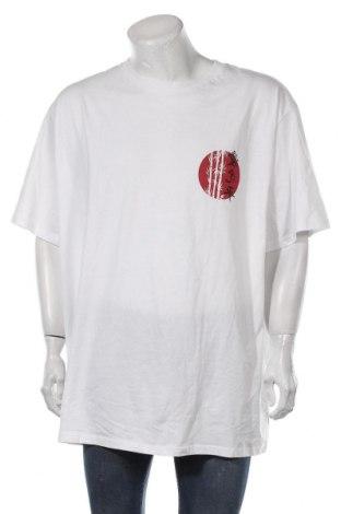 Мъжка тениска Brave Soul, Размер 4XL, Цвят Бял, Памук, Цена 28,50лв.