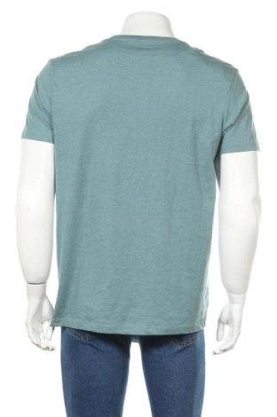 Мъжка тениска Burton of London, Размер L, Цвят Син, 50% памук, 50% полиестер, Цена 27,00лв.