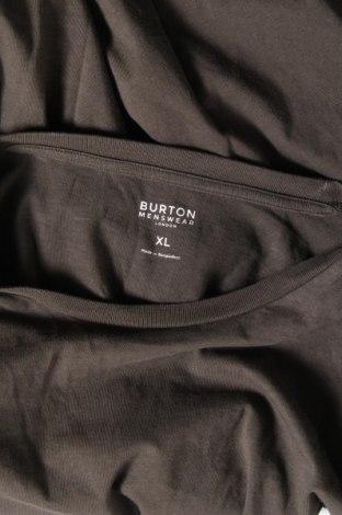 Мъжка тениска Burton of London, Размер XL, Цвят Зелен, Памук, Цена 19,80лв.