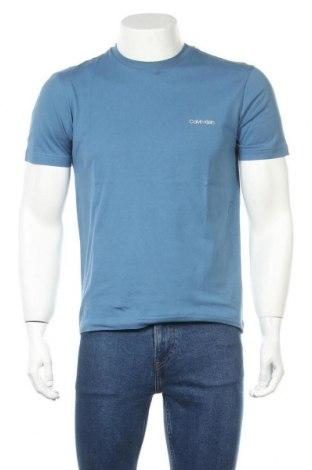 Ανδρικό t-shirt Calvin Klein, Μέγεθος M, Χρώμα Μπλέ, Βαμβάκι, Τιμή 21,65€
