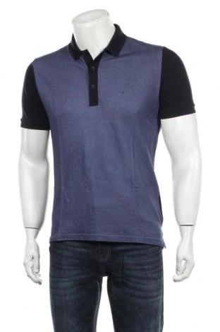 Tricou de bărbați Calvin Klein Jeans, Mărime L, Culoare Albastru, Bumbac, Preț 66,62 Lei