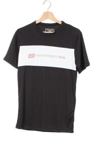Pánské tričko  Core By Jack & Jones, Velikost XS, Barva Černá, Polyester, Cena  500,00Kč
