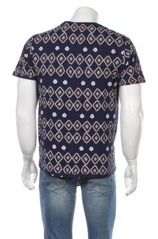 Мъжка тениска Desigual, Размер M, Цвят Син, Памук, Цена 39,50лв.