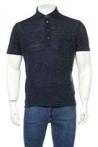 Мъжка тениска Ermenegildo Zegna, Размер S, Цвят Син, Лен, Цена 54,00лв.