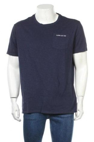 Ανδρικό t-shirt Guess, Μέγεθος XL, Χρώμα Μπλέ, Βαμβάκι, Τιμή 30,41€