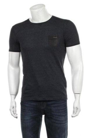 Мъжка тениска Guess By Marciano, Размер M, Цвят Син, 70% памук, 30% полиестер, Цена 33,00лв.