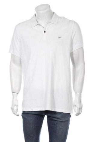 Ανδρικό t-shirt Hugo Boss, Μέγεθος XXL, Χρώμα Λευκό, Βαμβάκι, Τιμή 68,04€