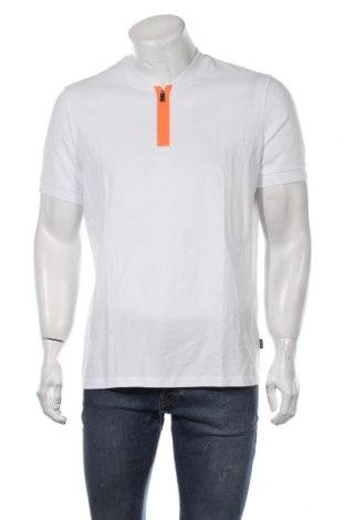 Tricou de bărbați Hugo Boss, Mărime L, Culoare Alb, Bumbac, Preț 261,52 Lei