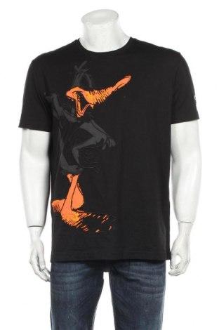 Ανδρικό t-shirt Iceberg, Μέγεθος L, Χρώμα Μαύρο, Βαμβάκι, Τιμή 84,67€