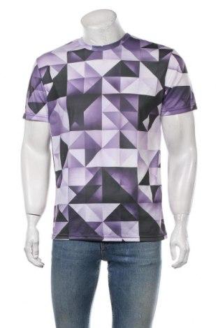 Мъжка тениска JUNIQE, Размер XL, Цвят Лилав, Полиестер, Цена 20,88лв.