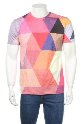 Ανδρικό t-shirt JUNIQE, Μέγεθος M, Χρώμα Πολύχρωμο, Πολυεστέρας, Τιμή 16,49€