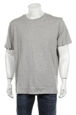 Мъжка тениска Jack & Jones, Размер XXL, Цвят Сив, 85% памук, 15% вискоза, Цена 20,88лв.