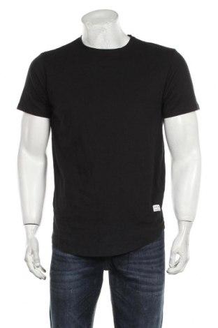 Мъжка тениска Jack & Jones, Размер L, Цвят Черен, Памук, Цена 27,00лв.