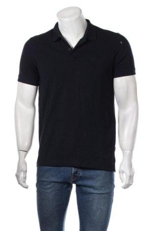 Мъжка тениска Jack & Jones, Размер M, Цвят Син, Памук, Цена 36,75лв.