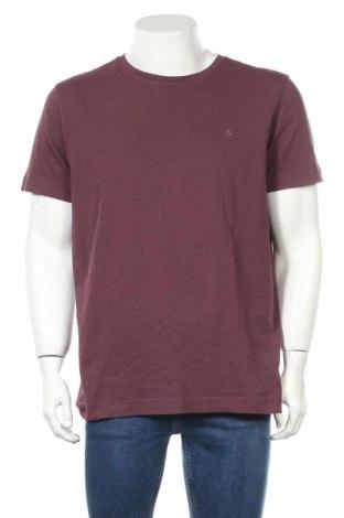 Мъжка тениска Jack & Jones, Размер L, Цвят Червен, Памук, Цена 36,75лв.