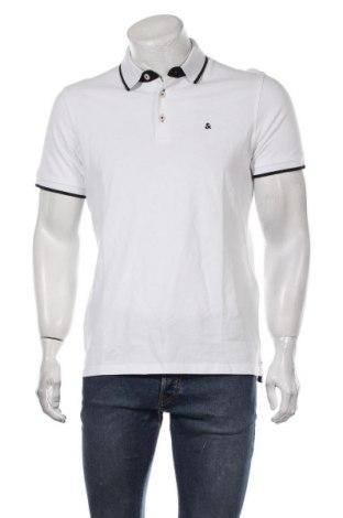 Tricou de bărbați Jack & Jones, Mărime L, Culoare Alb, Bumbac, Preț 67,70 Lei