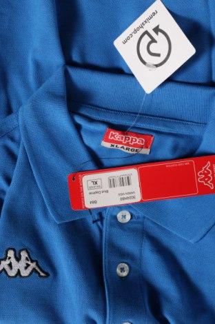 Мъжка тениска Kappa, Размер XL, Цвят Син, Памук, Цена 13,44лв.