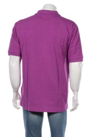 Мъжка тениска Kappa, Размер XL, Цвят Лилав, Памук, Цена 19,72лв.