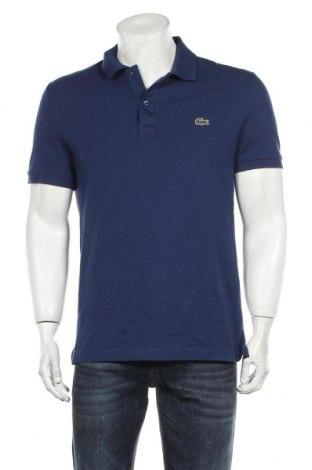 Ανδρικό t-shirt Lacoste, Μέγεθος L, Χρώμα Μπλέ, Βαμβάκι, Τιμή 45,88€