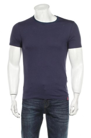 Tricou de bărbați Levi's, Mărime S, Culoare Albastru, Bumbac, Preț 77,37 Lei