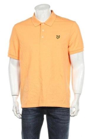 Ανδρικό t-shirt Lyle & Scott, Μέγεθος XL, Χρώμα Πορτοκαλί, 98% βαμβάκι, 2% ελαστάνη, Τιμή 26,68€