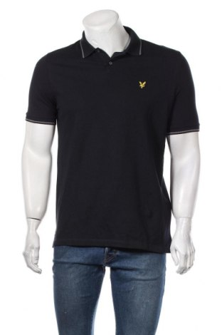 Ανδρικό t-shirt Lyle & Scott, Μέγεθος S, Χρώμα Μπλέ, Βαμβάκι, Τιμή 26,68€