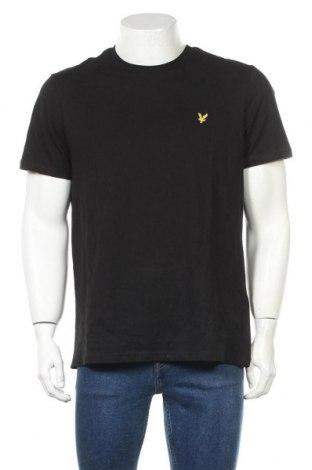 Ανδρικό t-shirt Lyle & Scott, Μέγεθος L, Χρώμα Μαύρο, Βαμβάκι, Τιμή 26,68€