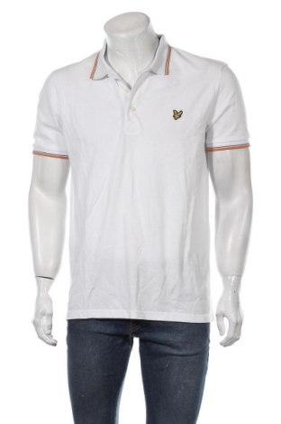 Ανδρικό t-shirt Lyle & Scott, Μέγεθος L, Χρώμα Λευκό, Βαμβάκι, Τιμή 21,34€