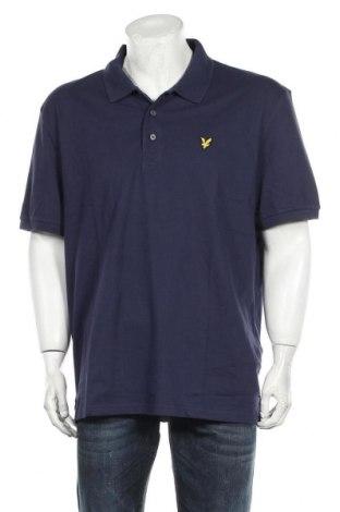Ανδρικό t-shirt Lyle & Scott, Μέγεθος XL, Χρώμα Μπλέ, 97% βαμβάκι, 3% ελαστάνη, Τιμή 35,57€