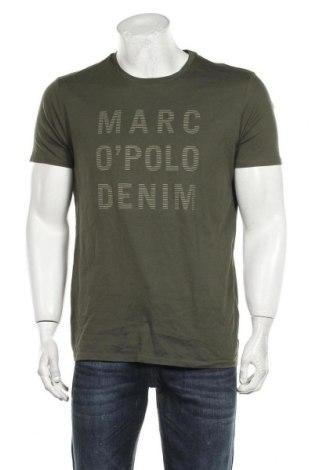 Мъжка тениска Marc O'Polo, Размер L, Цвят Зелен, Памук, Цена 59,25лв.