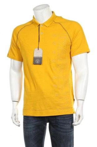 Мъжка тениска Napapijri, Размер L, Цвят Жълт, Памук, Цена 48,95лв.