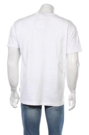 Мъжка тениска Napapijri, Размер L, Цвят Бял, Цена 27,50лв.