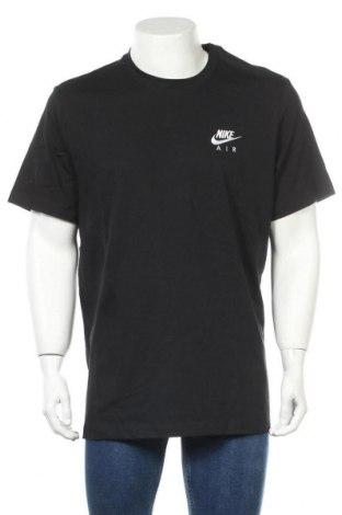 Ανδρικό t-shirt Nike, Μέγεθος XL, Χρώμα Μαύρο, Βαμβάκι, Τιμή 22,43€