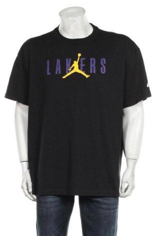 Ανδρικό t-shirt Nike, Μέγεθος XL, Χρώμα Μαύρο, Βαμβάκι, Τιμή 24,74€