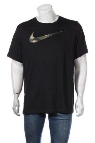 Ανδρικό t-shirt Nike, Μέγεθος XL, Χρώμα Μαύρο, 59% βαμβάκι, 41% πολυεστέρας, Τιμή 32,99€