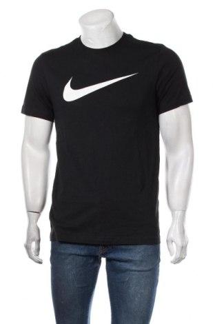 Ανδρικό t-shirt Nike, Μέγεθος S, Χρώμα Μαύρο, Βαμβάκι, Τιμή 24,74€