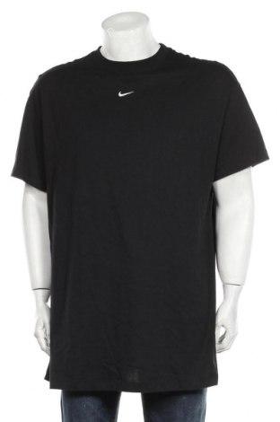 Мъжка тениска Nike, Размер XL, Цвят Черен, 100% памук, Цена 48,00лв.