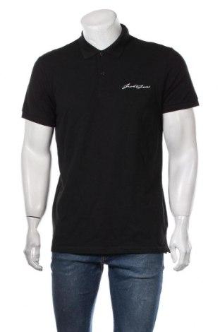 Мъжка тениска Originals By Jack & Jones, Размер L, Цвят Черен, Памук, Цена 34,50лв.