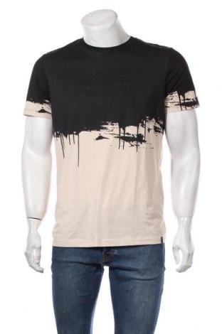 Мъжка тениска Originals By Jack & Jones, Размер M, Цвят Черен, Памук, Цена 36,75лв.