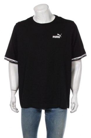 Мъжка тениска PUMA, Размер XXL, Цвят Черен, 96% памук, 4% еластан, Цена 51,75лв.